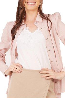 Camisa Simone Rosa
