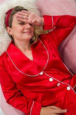 Conjunto Pijama Red