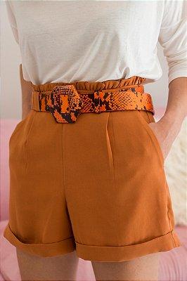 Shorts Karen Caramelo
