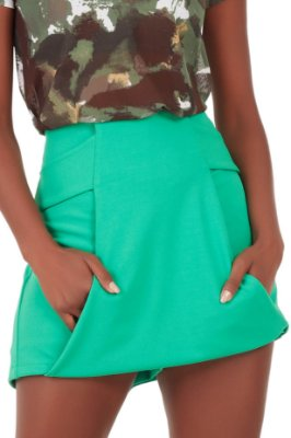Shorts Saia Louise Verde