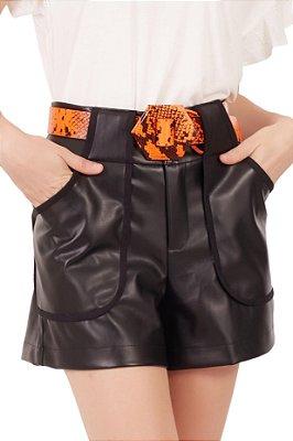 Shorts Isabela Preto