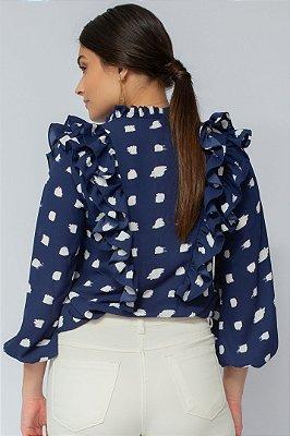 Camisa Mônica Azul