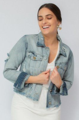 Jaqueta Jeans Diana