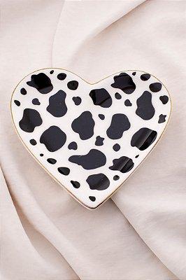Porta Jóia Coração Cow