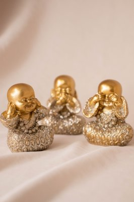 Trio Buda Decorativo