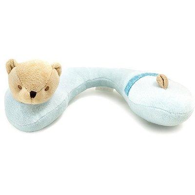 Protetor de Pescoço para Carro Ursinho Azul Kababy