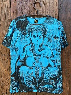 Camiseta Indiana Masculina Ganesha Cores