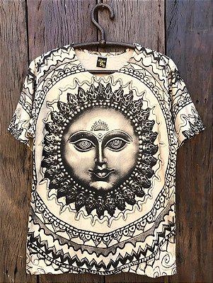 Camiseta Indiana Masculina Sol Súria