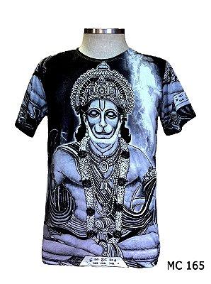 Camiseta Indiana Masculina Deuses Hanuman