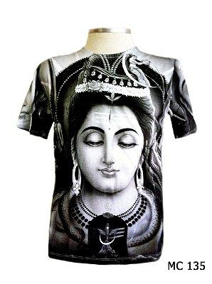 Camiseta Indiana Masculina Lakshmi Face