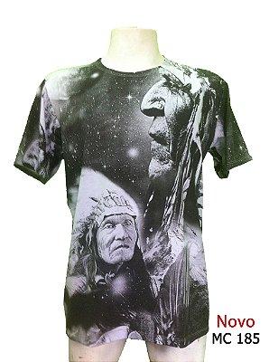 Camiseta Indiana Masculina Xamânica