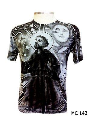 Camiseta Indiana Masculina São Francisco de Assis