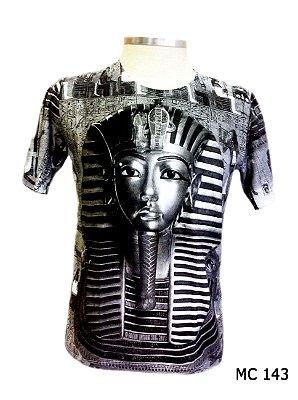 Camiseta Indiana Masculina Tutancâmon Grafite