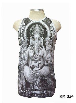 Regata Indiana Masculina Ganesha Grafite