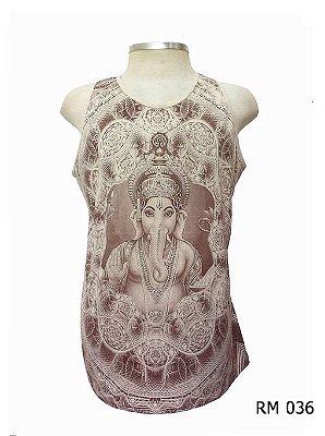 Regata Indiana Masculina Ganesha Bege