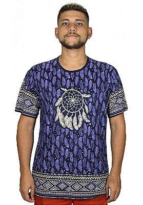 Camiseta Indiana Unissex Filtro dos Sonhos Azul