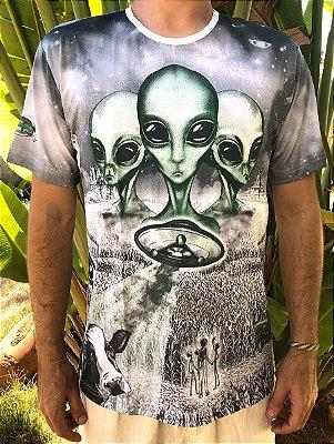Camiseta Indiana Unissex Aliens