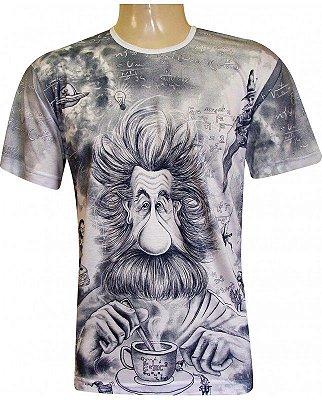Camiseta Indiana Unissex Albert Einstein