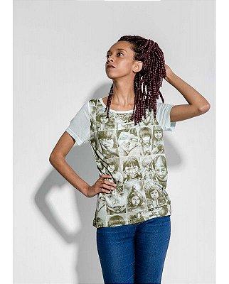 T-shirt Indiana Feminina Os Curumins