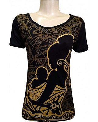 T-shirt Indiana Feminina Mama África