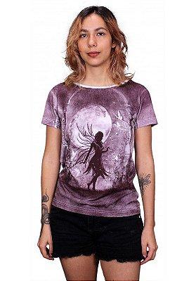 T-shirt Indiana Feminina Fada Lua