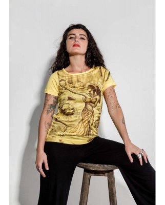 T-shirt Indiana Feminina Oxum