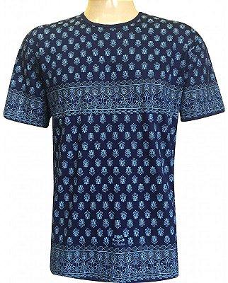 Camiseta Indiana Unissex Extra Grande Marinho
