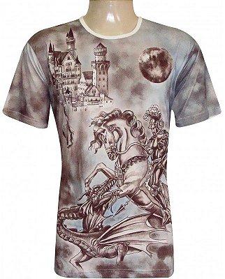 Camiseta Indiana Unissex São Jorge e Sabra