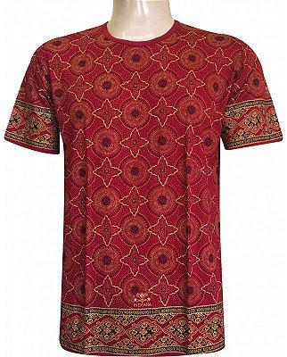 Camiseta Indiana Unissex Extra Grande Star Vermelha