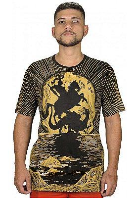 Camiseta Indiana Unissex São Jorge Raios