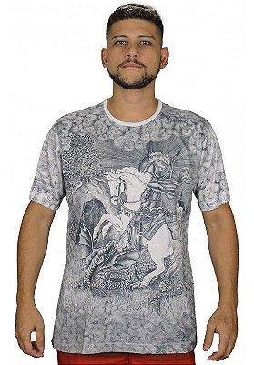 Camiseta Indiana Unissex São Jorge Branca