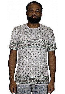 Camiseta Indiana Unissex Coroa Branca