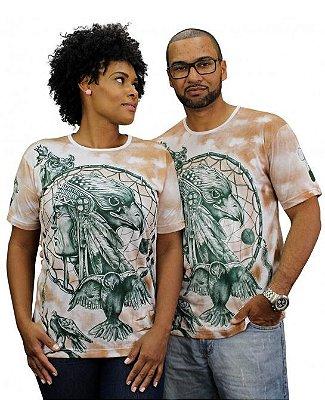 Camiseta Indiana Unissex Águia Filtro dos Sonhos