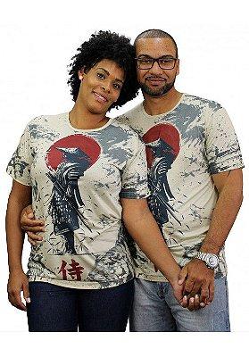 Camiseta Indiana Unissex Samurai Areia