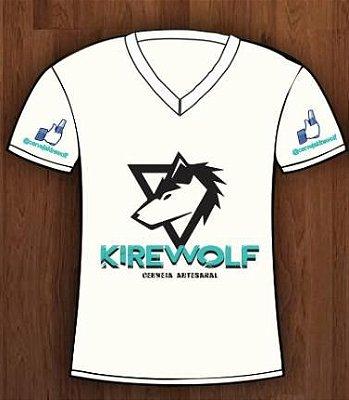 Camiseta Personalizada Kirewolf Branca