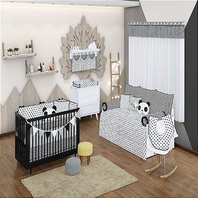 Quarto de Bebê 18 Peças Coleção Panda