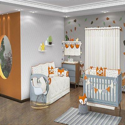 Quarto de Bebê 18 Peças Coleção Fox