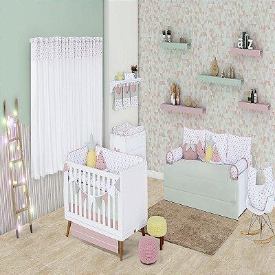 Quarto de Bebê 18 Peças Coleção Summer