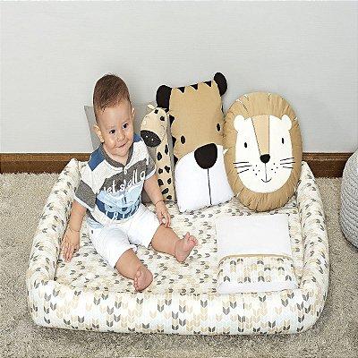 Colchonete Infantil 03 Peças Estampa Savannah