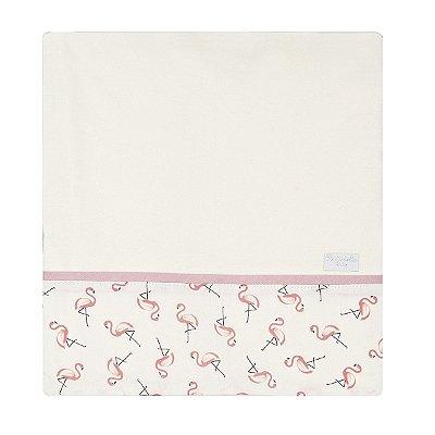 Cueiro em Malha 01 Peça Flamingo