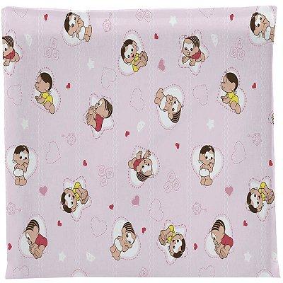 Travesseiro para Bebê em Malha Antissufocante Mônica e Magali