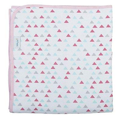 Cobertor Estampado Para Bebê 150 Fios 100% Algodão