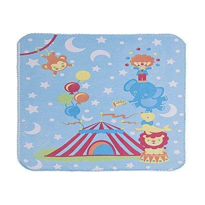 Cobertor Estampado Circo