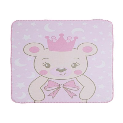 Cobertor Estampado Ursa Princesa