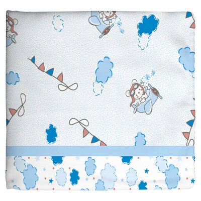 Cobertor para Bebê Estampado Aviador