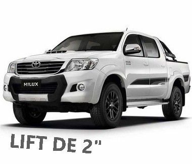"Kit Jumelo c/ LIFT 2"" - Toyota Hilux 2005 ~ 2015 