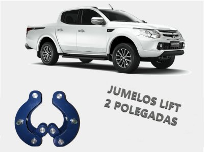 "Kit Jumelo c/ LIFT 2"" - Mitsubishi All New Triton 2017 ~ 2021"