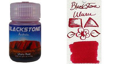 Tinta para caneta tinteiro Blackstone Uluru Red 30ml *