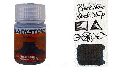 Tinta para caneta tinteiro blackstone black stump 30ml *