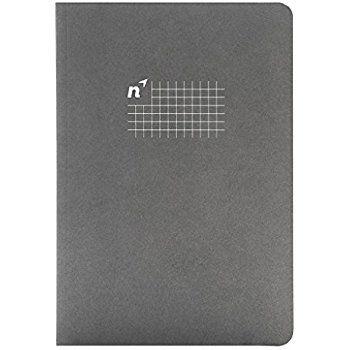 Caderno Northbooks cinza folhas quadriculadas *